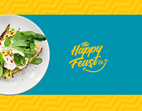 The Happy Feast Co. Branding