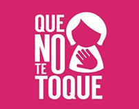 """Campaña """"Que no te toque"""" para Fundación Metrovía"""