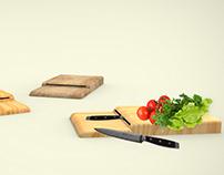 BORK project - cutting board