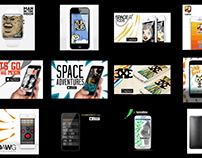 Various UI/UX Art Direction