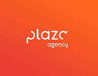 Plaza agency • Identité visuelle & Webdesign