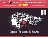 Jeu concours 8 Mars By So Hit