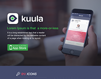 iOS App Design for Kuula