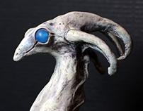 OOAK Sculptures: Bone Panga