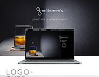 GENTLEMEN'S INSTITUTE - LOGOTYPE // WEBDESIGN