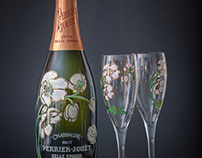 Product Photography - Champagne Perrier-Jouët