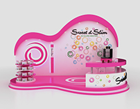 Sweet & Slim Booth Design