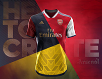 Arsenal Adidas Concept | Pattern 2018