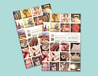 Master Artist Booklet
