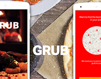 Grub - A finer experience | App, Website