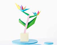 Gleerups paper flower
