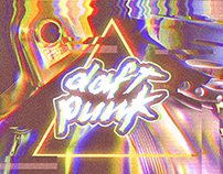 daft punk digital illustration