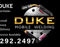 Logo Design & Business Card - Duke Mobile Welding