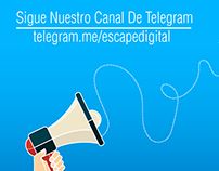 Canal Telegram Escape Digital