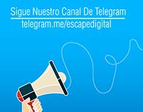 Canal Telegram Escape Digital