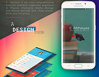 E-Abhayas Android application Design