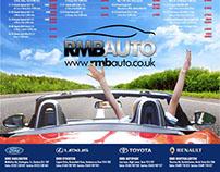 RMB Auto Motors Retail Press Ads
