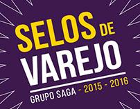 Selos para Campanhas de Varejo - Grupo Saga