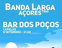 """""""Banda Larga Açores"""" Event Posters"""