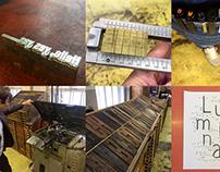 Swiss Experimental Typographic Letterpress Workshop