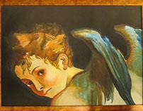 Replica de Original: Cupido por Permigianino