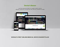 Doctor's Bazaar - Responsive Website