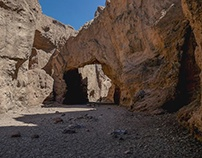 Natural Bridge Canyon, Death Valley