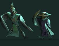 Samurai Birds
