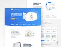 Product Website Design - UI/UX