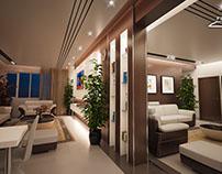 Design séjour luxe Zouaghi par FOXNAS