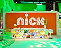 NICKELODEON: Trade Show Booth