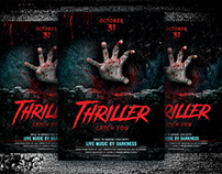Thriller Flyer Template