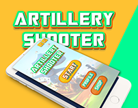 Artillery Shooter Game UI Design