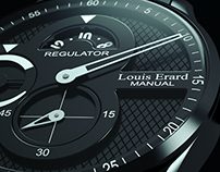 LOUIS ERARD WATCH, 3D render