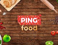 Ping Food Logo