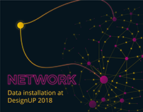 Network | Data installation at DesignUP 2018