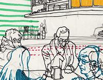 Some new sketchbook drawings