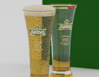 Beer Lvivske (3D model)