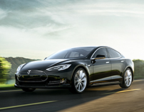 Tesla Model S - CGI and Retouch