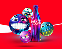 "Coca Cola ""Feelings Emoticons"""