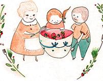illustrations for Petite Style magazine