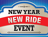New Year New Ride Automotive Campaign