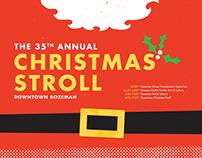 2015 Bozeman Christmas Stroll Poster