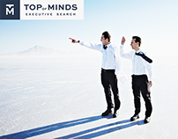 Top of Minds Executive Search - Online Design 2016