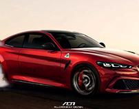 Alfa Romeo GTV Render