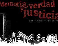 Memoria, verda y justicia