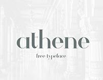 Athene || Free Typeface