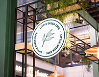 Little Green Cafe Rebranding