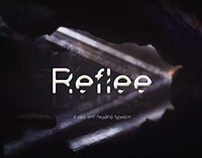 REFLEE - FREE FONT