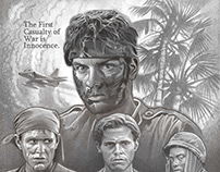 Comp for Platoon Tribute Poster
